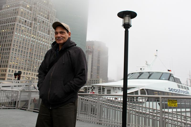 Rockaway resident Raul Romero takes a ferry to work every morning from Rockaway Park, Queens to Lower Manhattan.