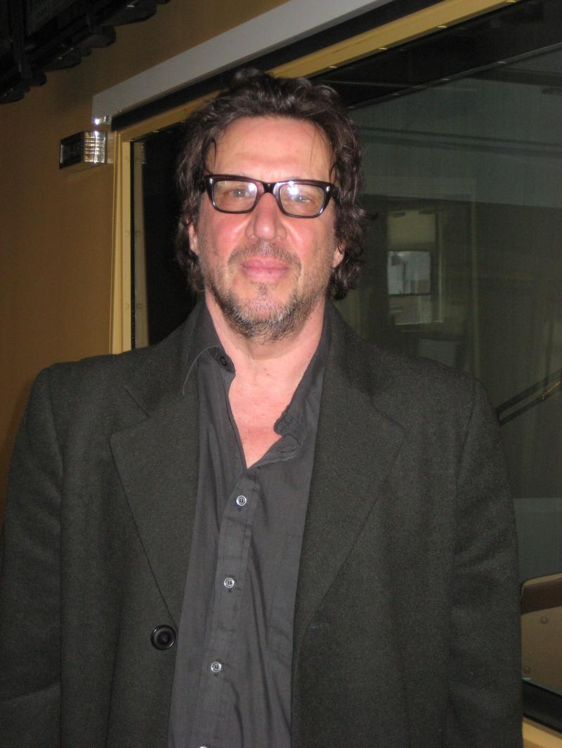 Richard Hell in the WNYC studios
