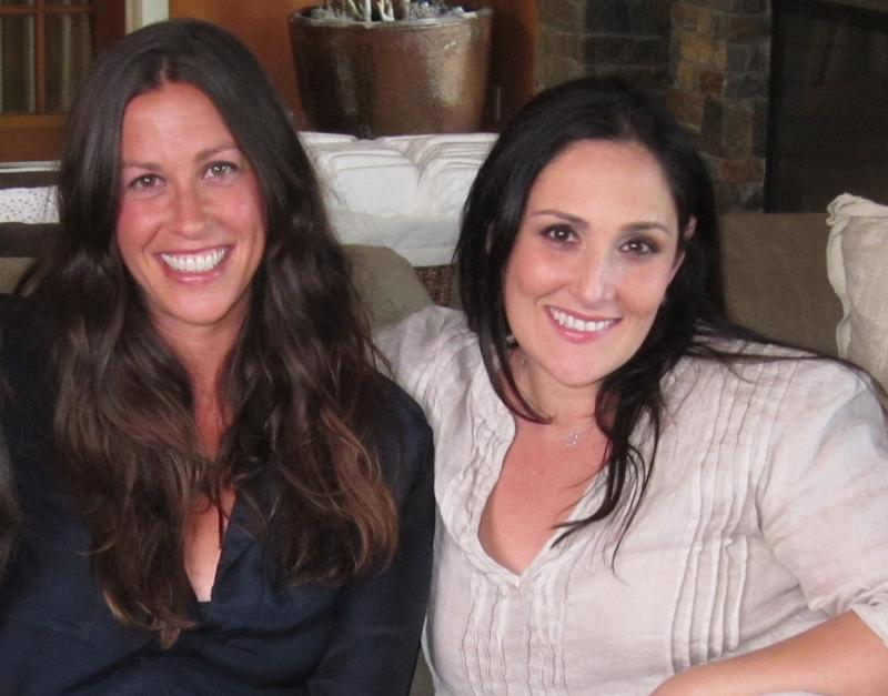 "Ricki Lake and Alanis Morissette in the new documentary ""Breastmilk"""