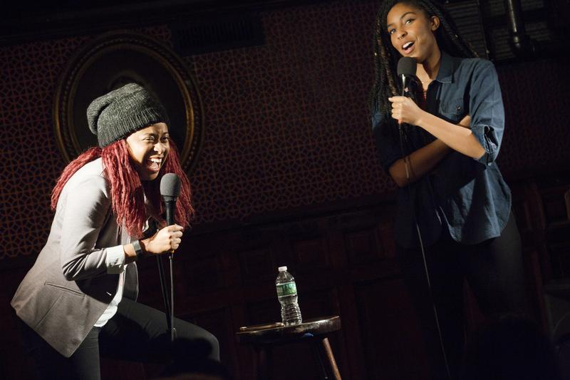 2 Dope Queens with Phoebe Robinson and Jessica Williams is taped live at Union Hall in Brooklyn.