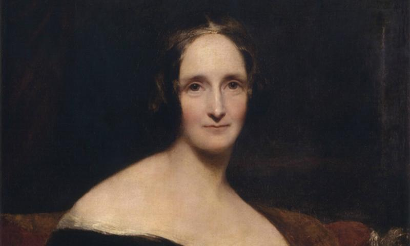 Mary Shelley in 1840