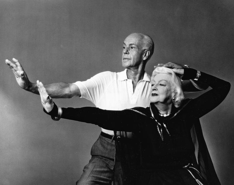 Pioneers of modern dance, Ruth St. Denis and Ted Shawn, photographed on their 50th Wedding Anniversary, August 11, 1964.