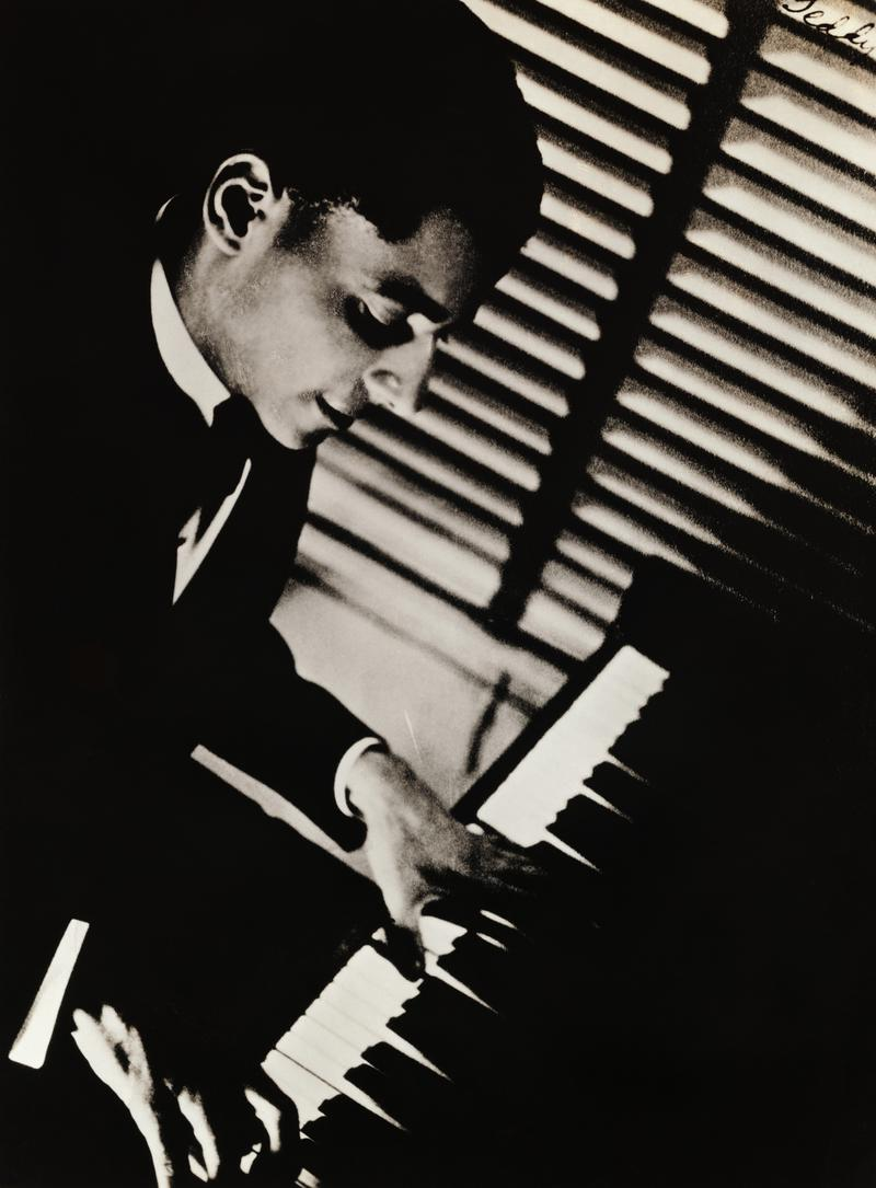 Teddy Wilson Playing Piano