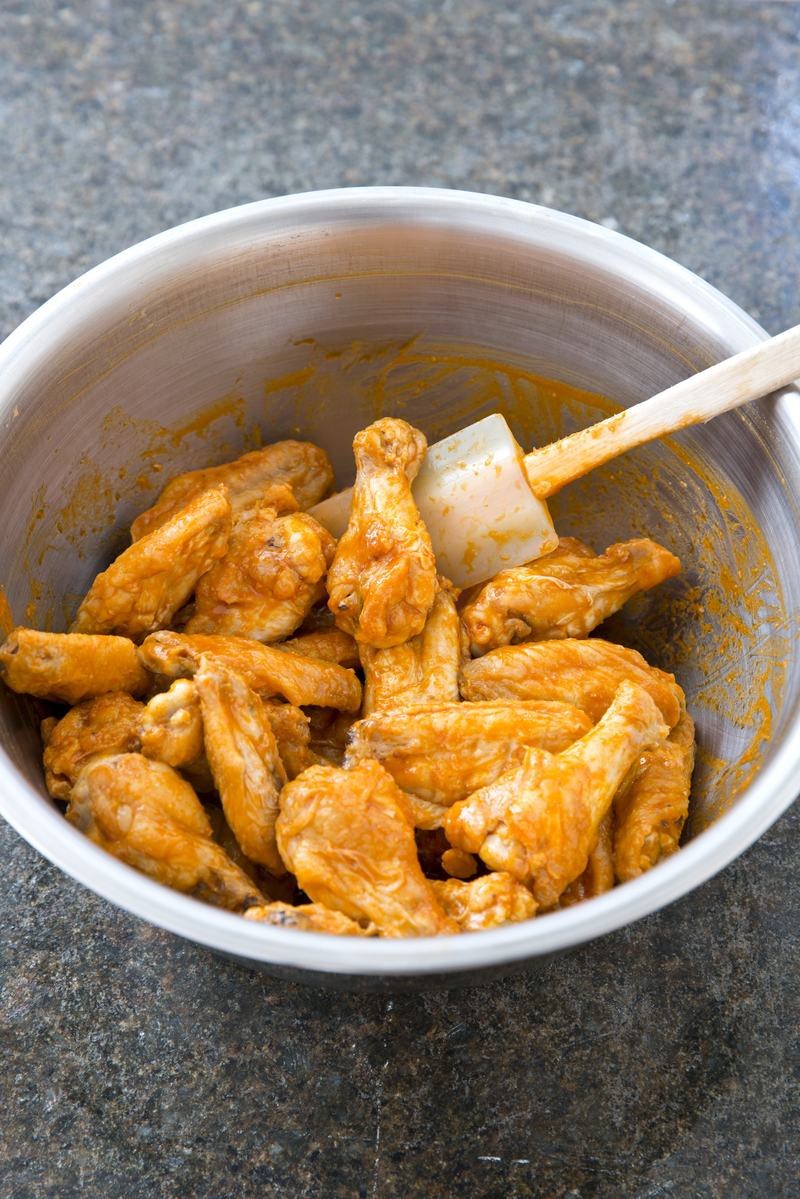 Americas Test Kitchen Bufflo Chicken Wings