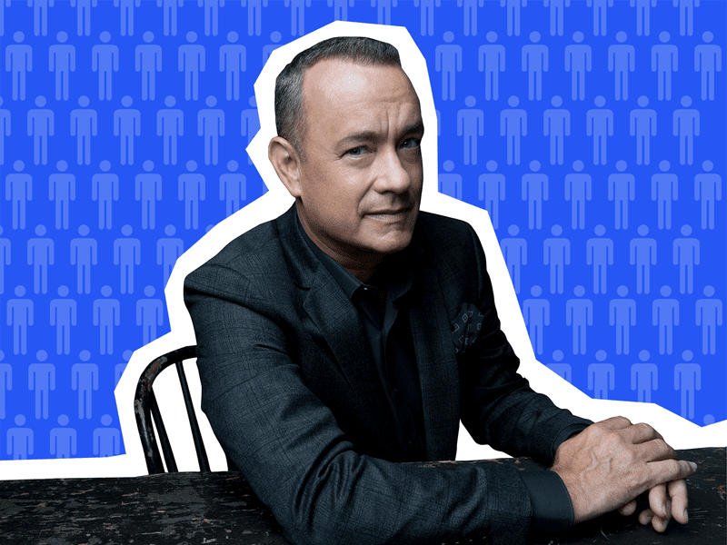 Actor Tom Hanks on Sooo Many White Guys