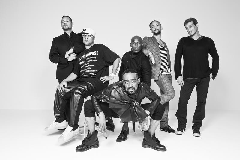"Madonna's dancers as featured in ""Strike A Pose"" (left to right): Luis Camacho, Oliver Crumes III, Jose Gutierez, Carlton Wilborn, Kevin Stea, Salim Gauwloos."