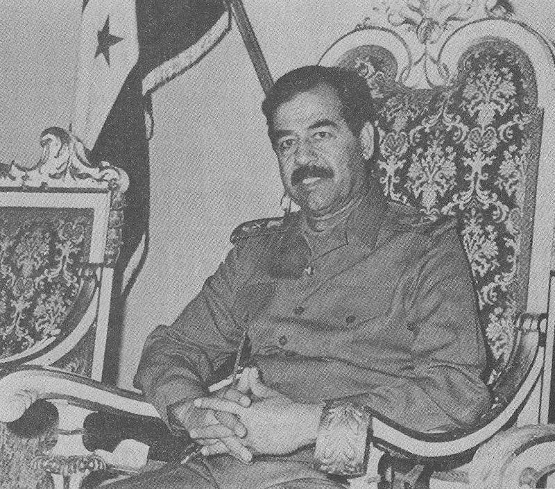 Saddam Hussein, 1988.
