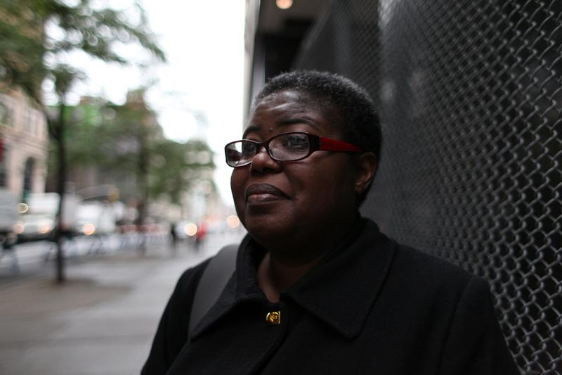 Furloughed Federal employee Shawnee Swinton is doing pro bono work and working on her p.h.D until the furlough is over.