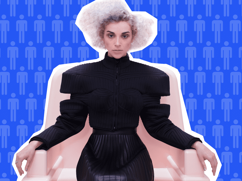 Musician St. Vincent on Sooo Many White Guys