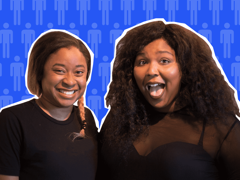 Phoebe Robinson and Lizzo talk hair, social justice and hip-hop in new podcast.