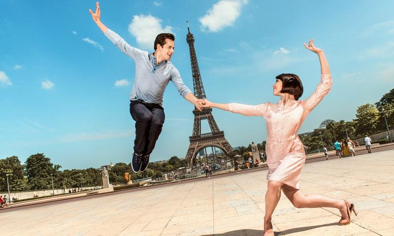 Leanne Cope and Robert Fairchild star in the Broadway adaptation of <em>An American in Paris</em>
