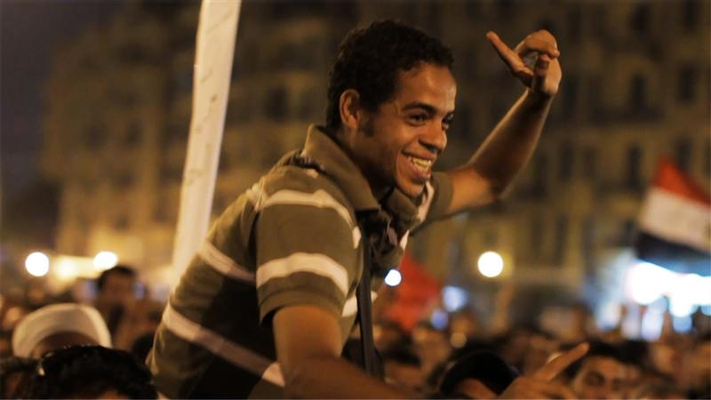 "Egyptian activist Ahmed Hassan in Jehane Noujaim's documentary ""The Square."""