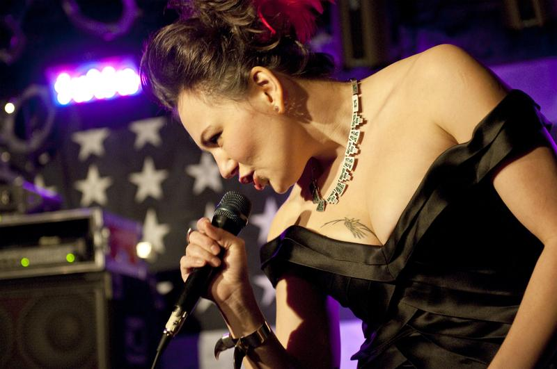 Canadian throat singer Tanya Tagaq.