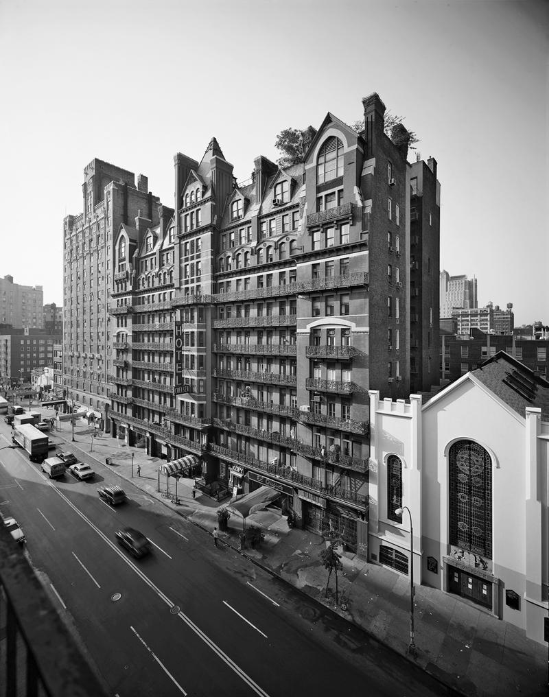 Sherill Tippins' new book traces the history of New York's Chelsea Hotel.