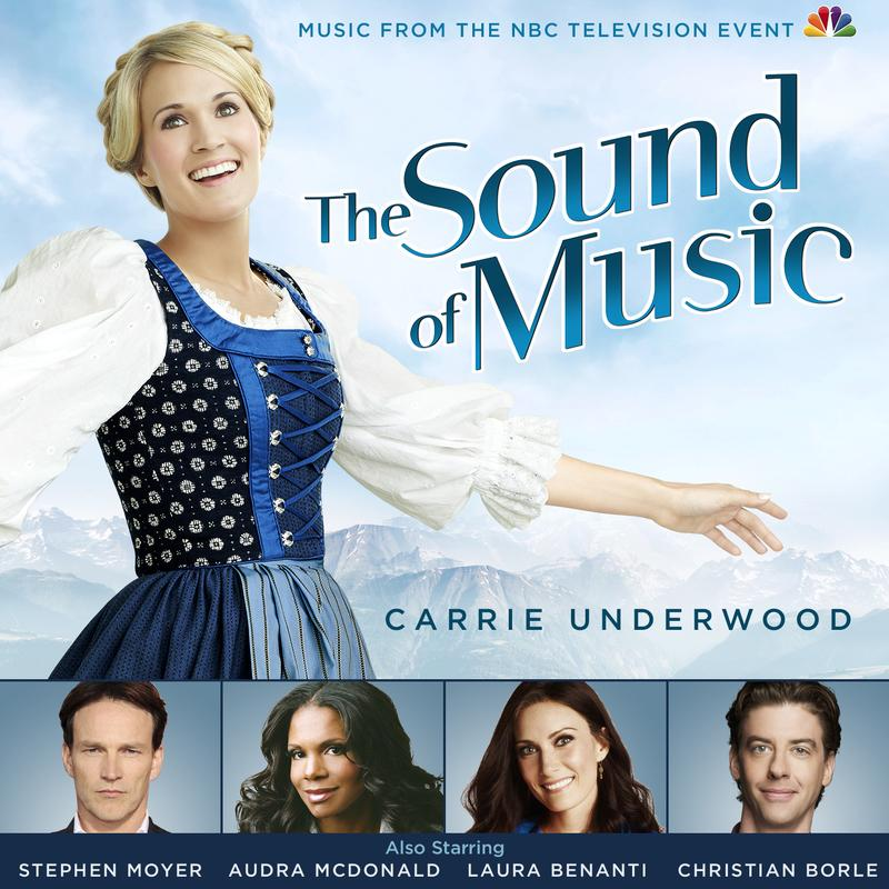 Promotional image for the sound of music remake with Carrie Underwood.