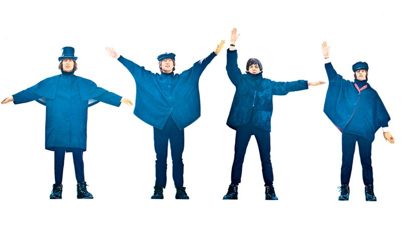 The Beatles' starred in their second film 'Help!' in 1965.
