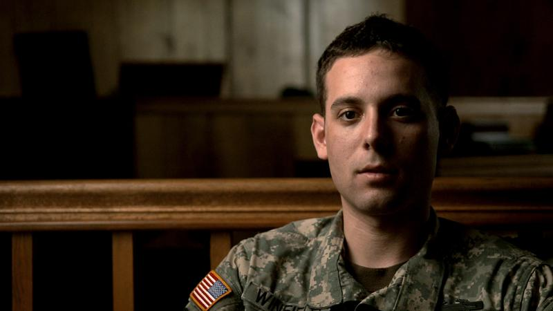 "Specialist Adam Winfield, in the documentary ""The Kill Team,"" directed by Dan Krauss."