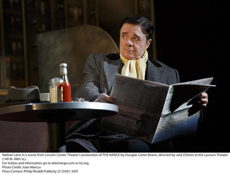 Nathan Lane stars in The Nance at the Lyceum Theater