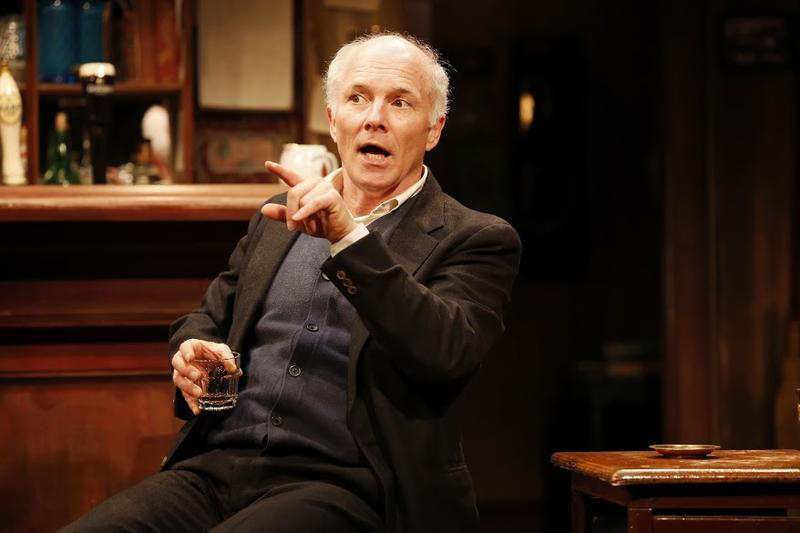 Dan Butler as Jack in Conor McPherson's THE WEIR, directed by Ciaran O'Reilly, at Irish Repertory Theatre.