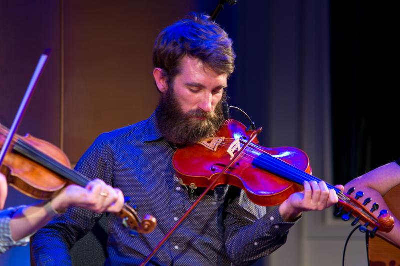 Irish music super group The Gloaming perform live in The Greene Space, presented by New Sounds