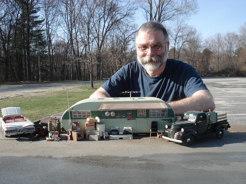 Self portrait by model sculptor Michael Paul Smith