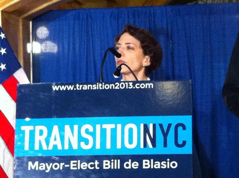Polly Trottenberg, NYC's newly appointed commissioner of transportation.