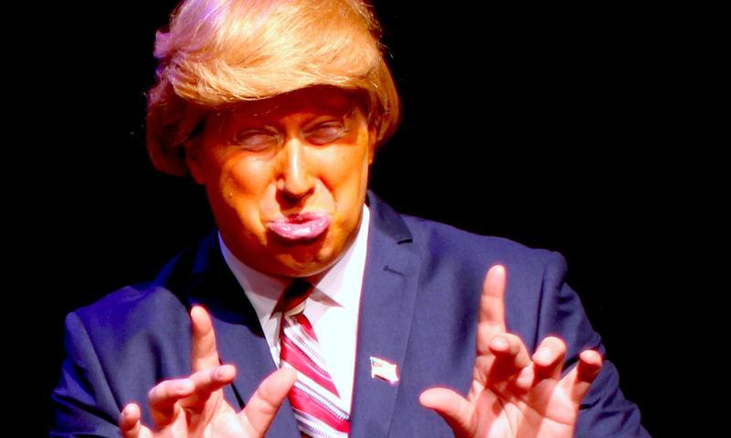 David Carl impersonating Donald Trump