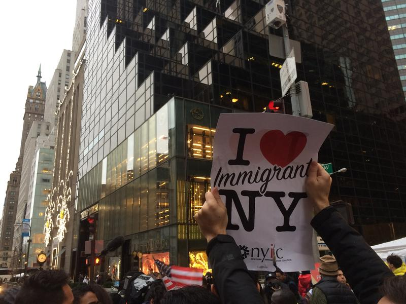 Trump Tower, a part-time White House-in-waiting, has taken on added significance, including as the focus of protests.