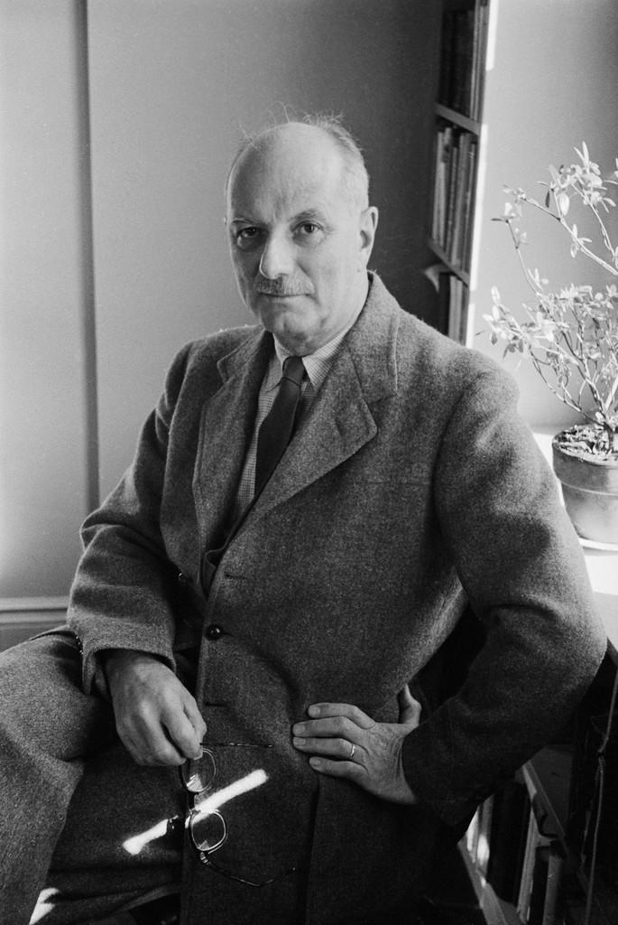 Portrait of Lewis Mumford, December 13, 1957.