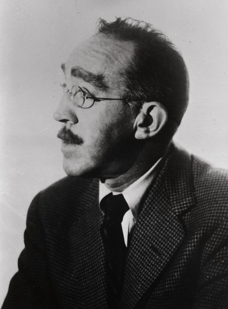 Portrait of Humorist Sydney Joseph Perelman, February 11, 1958