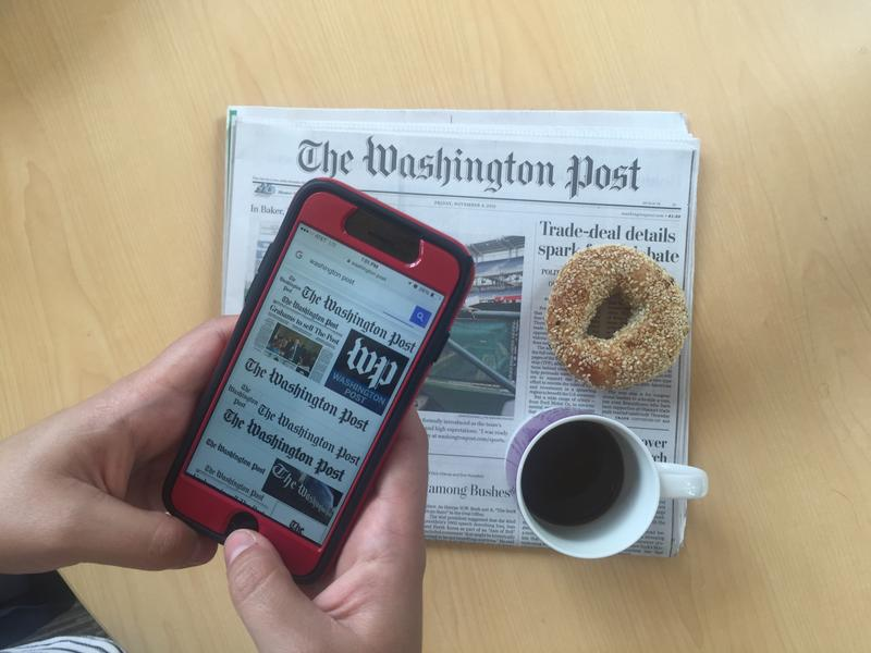 The Washington Post is embracing new mobile platforms.