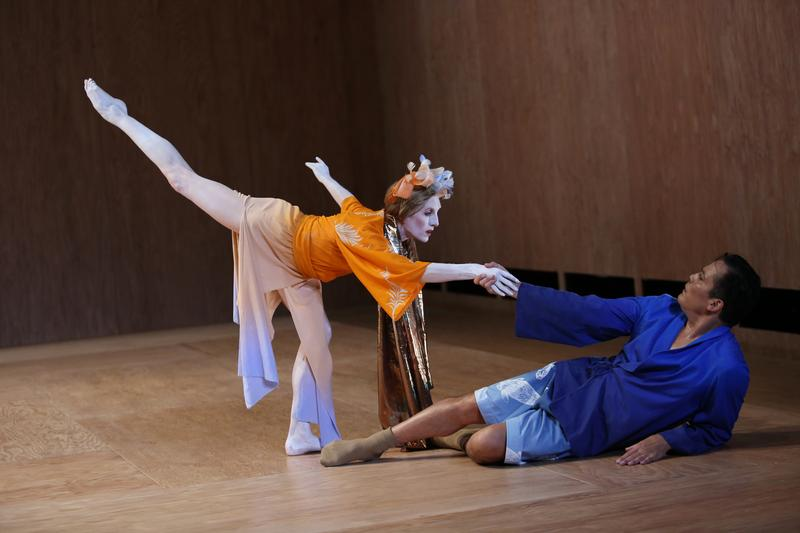 "Wendy Whelan and Jock Soto in the new work, ""Hagoromo."""