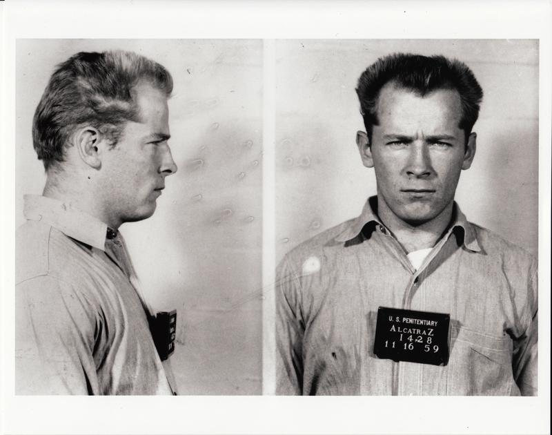 "Mugshot of James ""Whitey"" Bulger. Alcatraz Federal Penitentiary. From the film ""Whitey: United States of America v. James J. Bulger,"" a Magnolia Pictures release."