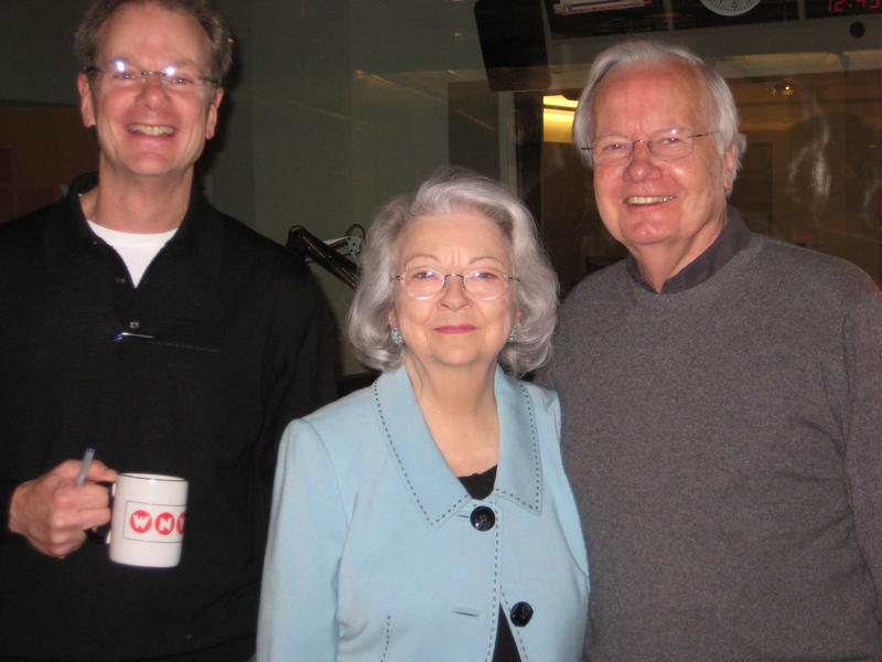 William Cope Moyers, Judith and Bill Moyers at WNYC February 8, 2013