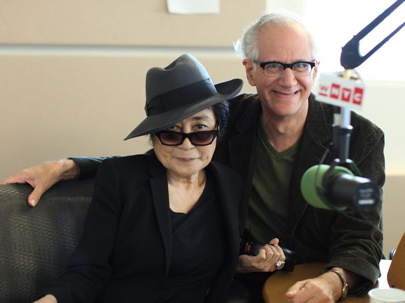 Yoko Ono with David Garland
