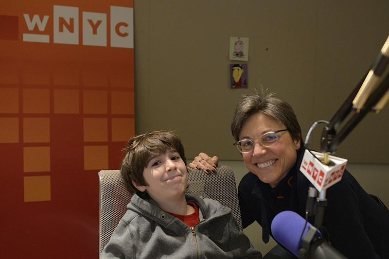 'Jeopardy!' champ Cerulean Ozarow with WNYC's Amy Eddings