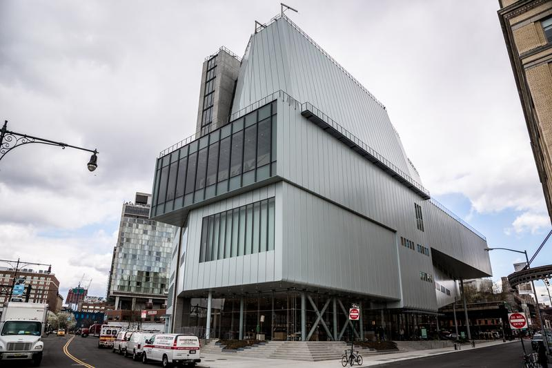 Whitney Museum of American Art, South-Western view, Meatpacking District.