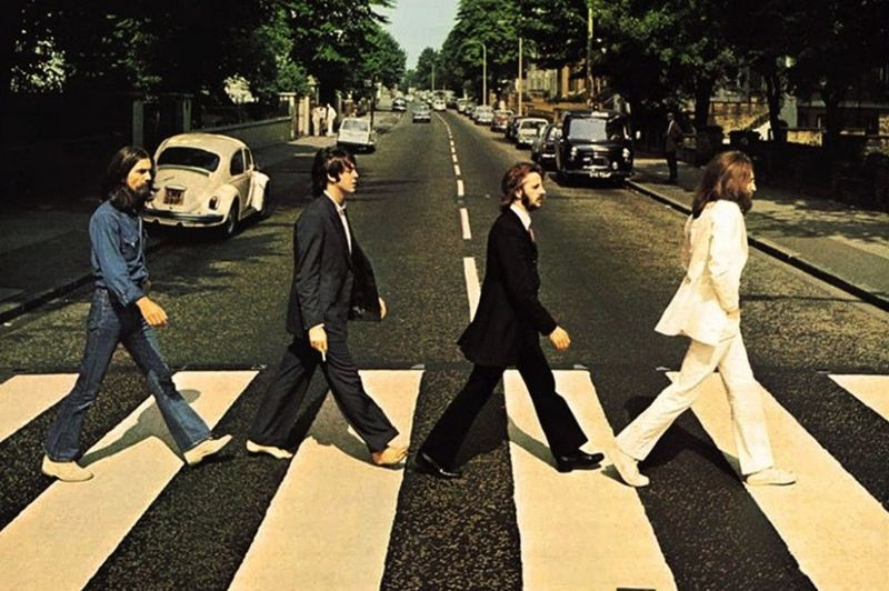 The Beatles' 'Abbey Road.'