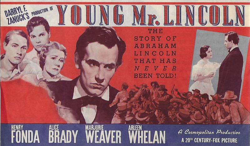Young Mr. Lincoln (1939) directed by John Ford