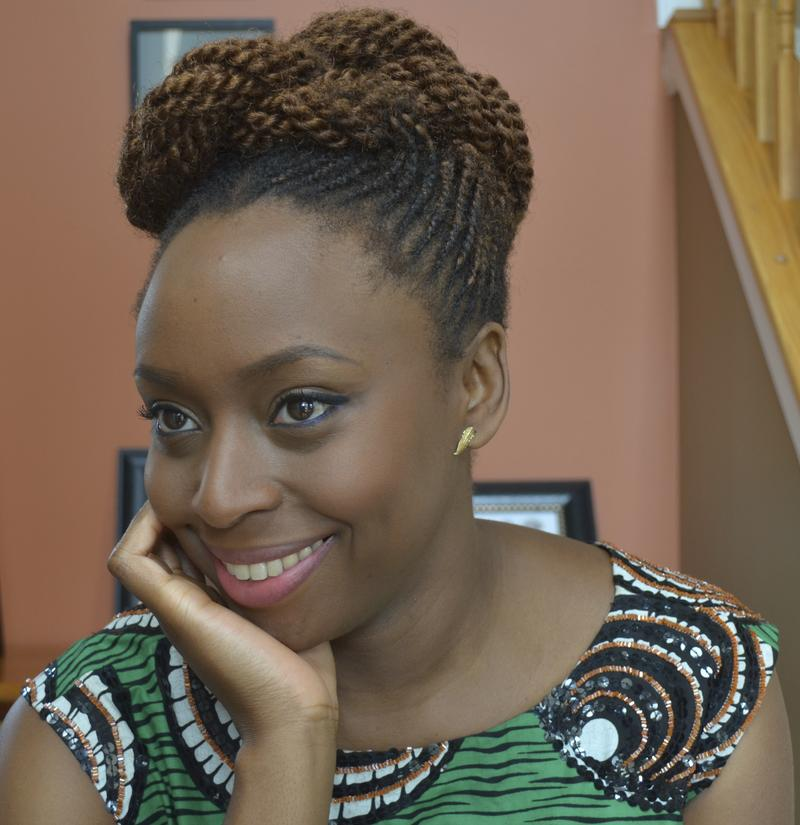 Author Chimamanda Ngozi Adichie