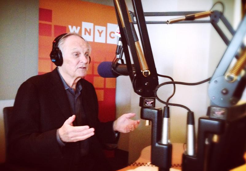 Alan Alda in the WNYC studios