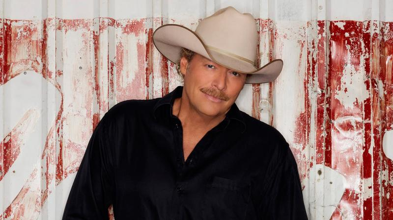 Alan Jackson was the second artist played on New York's new country music station.
