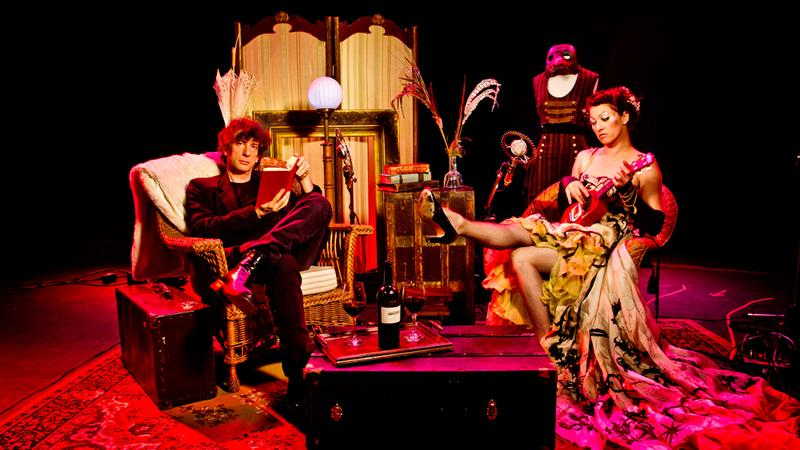 Recorded live in 2012, 'An Evening With Neil Gaiman And Amanda Palmer' features the writer and musician couple performing duets and cover songs, reading poetry, short stories, and more.