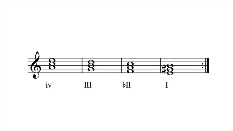 These four chords (er, the relationship between them) are responsible for *NSYNC's 'Bye Bye Bye' as well as 'Greensleeves.'