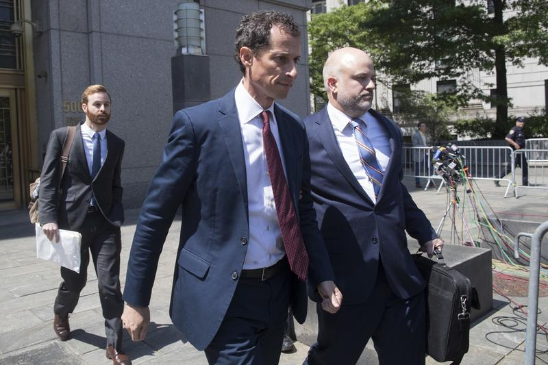 Anthony Weiner now faces years and prison, and a judge told him he would have to register as a sex offender.