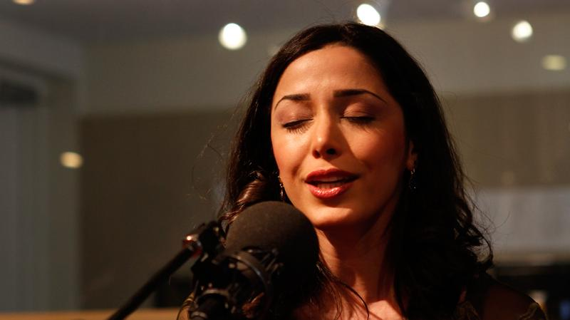 Bahar Movahed performs in the Soundcheck studio.