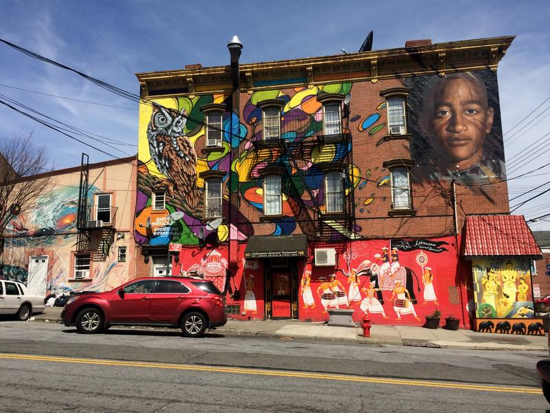 A mural in Stapleton, Staten Island by local arts organization NYC Arts Cypher.