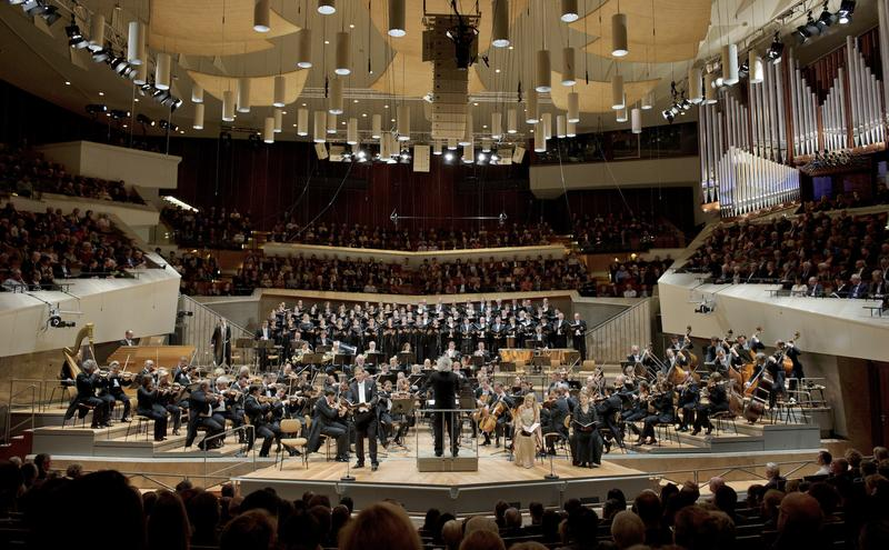 The Berlin Philharmonic at the Philharmonie