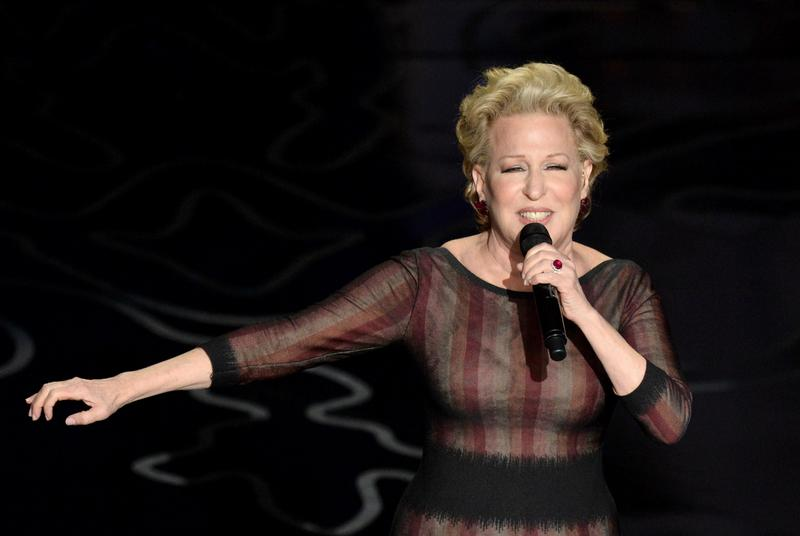 Bette Midler performs onstage during the Oscars at the Dolby Theatre on March 2, 2014 in Hollywood, California.