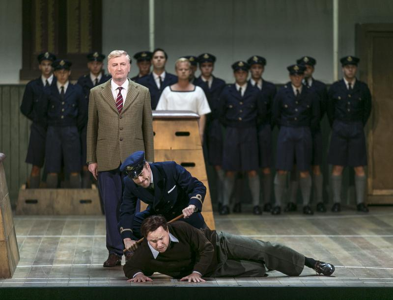 Benjamin Britten's 'Billy Budd' in a new production from the Göteborg Opera in Sweden.